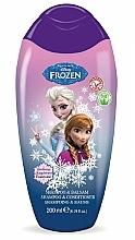 Perfumería y cosmética Champú y acondicionador infantil con jugo de aloe vera - Disney Frozen Shampoo & Conditioner