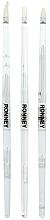Perfumería y cosmética Set pinceles de uñas para aplicar gel y acrílico, RN 00474, RN 00474 - Ronney Professional (3 uds.)