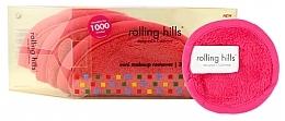 Perfumería y cosmética Discos desmaquillantes mini, rosa - Rolling Hills Mini Makeup Remover Pink