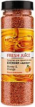 Perfumería y cosmética Perlas de baño con miel & naranja - Fresh Juice Bath Bijou Amber Honey and Orange