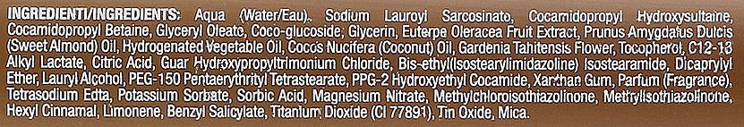 Champú reparador con aceite de coco - H.Zone Option Sun Monoi Restore Shampoo — imagen N3