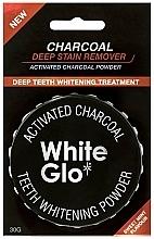 Perfumería y cosmética Polvo dental blanqueador - White Glo Activated Charcoal Teeth Polishing Powder