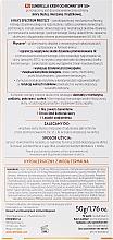 Crema protectora solar facial con extractos de romero y ortiga, resistente al agua SPF 50+ - Dermedic Sunbrella Sun Protection Cream Oily and Combination SPF50 — imagen N3