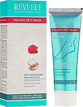 Perfumería y cosmética Mascarilla exfoliante para pies con aceite de camelia - Revuele Professional Care Peeling Feet Mask