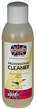 Perfumería y cosmética Desengrasante de uñas con aroma a vainilla - Ronney Professional Nail Cleaner Vanilia