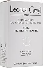 Perfumería y cosmética Aceite para cuerpo y cabello de argán y extracto de mimosa - Leonor Greyl Huile Secret de Beaute