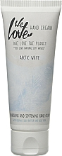 Perfumería y cosmética Crema de manos con manteca de karité y aloe vera - We Love The Planet Handcreme Arctic White