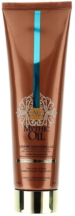 Crema para cabello con aceite de argán y almendra - L'Oreal Professionnel Mythic Oil Cream