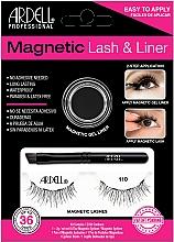Perfumería y cosmética Set - Magnetic Lash & Liner 110 Lash Kit (delineador/2g + pestañas magnéticas)