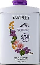 Perfumería y cosmética Yardley April Violets - Talco perfumado con aroma a violeta