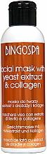 Perfumería y cosmética Mascarilla facial con extracto de levadura de cerveza y colágeno - BingoSpa Mask With Brewer's Yeast Extract And Collagen