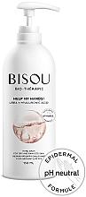 Perfumería y cosmética Crema bálsamo hidratante para manos secas y dañadas con urea y ácido hialurónico, pH neutro - Bisou Bio-Therape Help My Hands