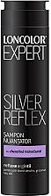 Perfumería y cosmética Champú neutralizador con queratina hidrolizada, reflejos plateados - Loncolor Expert Silver Reflex Shampoo