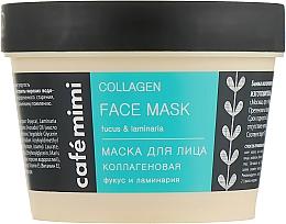 Perfumería y cosmética Mascarilla facial de colágeno con extracto de algas marinas - Cafe Mimi Face Mask