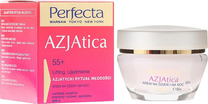 Crema facial con extracto de ciruela kakadu - Perfecta Azjatica Day & Night Cream 55+ — imagen N1