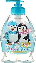 Perfumería y cosmética Gel de ducha con aroma a naranja, Pingüinos - Chlapu Chlap Bath & Shower Gel