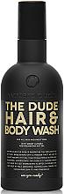 Perfumería y cosmética Gel de ducha para cabello y cuerpo con aceites de macadamia y de almendras dulces - Waterclouds The Dude Hair And Body Wash