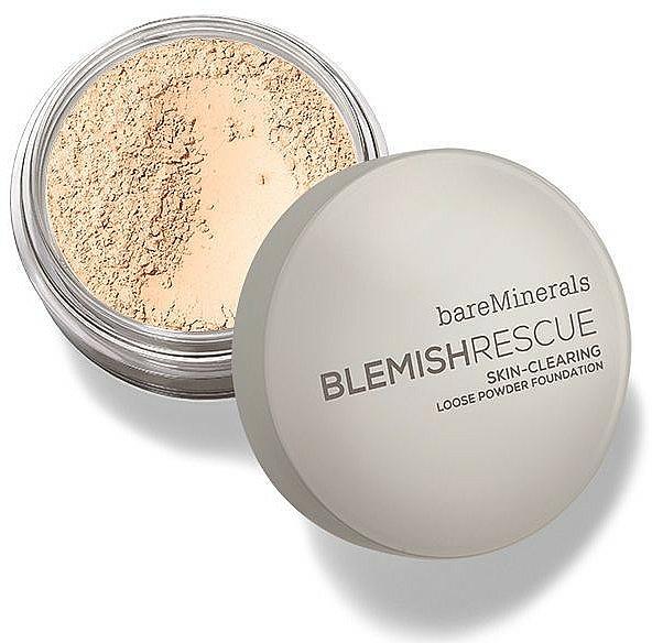 Polvo suelto de maquillaje con ácido salicílico - Bare Escentuals Bare Minerals Blemish Rescue Skin-Clearing Loose Powder Foundation