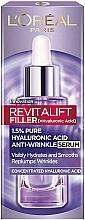 Perfumería y cosmética Sérum facial antiarrugas con 1,5% ácido hialurónico puro - L'Oreal Paris Revitalift Filler (ha)
