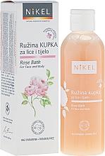 Perfumería y cosmética Espuma de baño con rosa demascena - Nikel Rose Bath