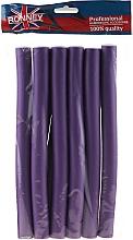 Perfumería y cosmética Rulos de gomaespuma flexibles 20/240 mm, lila - Ronney