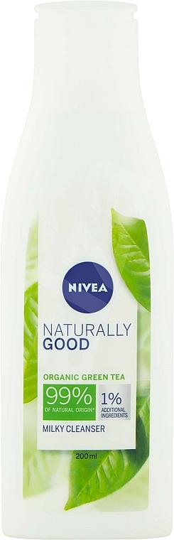 Leche limpiadora con extracto de té verde - Nivea Naturally Good Green Tea Milky Cleanser