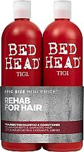 Perfumería y cosmética Set champú y acondicionador para cabello dañado - Tigi Bed Head Resurrection Shampoo&Conditioner (champú/750ml + acondicionador/750ml)