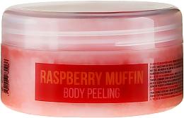 Perfumería y cosmética Peeling corporal con sal marina y aceite de almendras dulces, aroma a frambuesa - Stani Chef's Raspberry Muffin Body Peeling