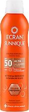 Perfumería y cosmética Spray protector solar invisible - Ecran Sun Lemonoil Spray Protector Invisible SPF50