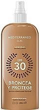 Perfumería y cosmética Leche solar spray resistente al agua - Mediterraneo Sun Suntan Lotion SPF30