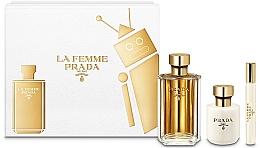 Perfumería y cosmética Prada La Femme Prada - Set (edp/100ml + loción corporal/100ml + edp mini/10ml)