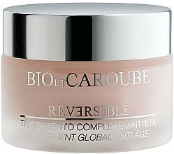 Perfumería y cosmética Crema facial antiedad con aceite de jojoba y extracto de manzana - Bio et Caroube Reversible Complete Anti-Ageing Treatment