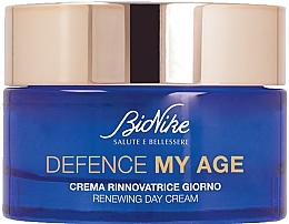 Perfumería y cosmética Crema de día regeneradora con vitamina C - BioNike Defence My Age Renewing Day Cream