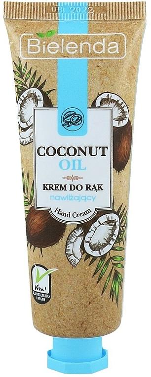 Crema de manos con aceite de coco - Bielenda Moisturising Hand Cream
