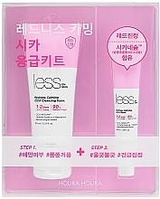 Perfumería y cosmética Set facial - Holika Holika Less On Skin Redness Calming CICA Emergency Kit (espuma limpiadora/150ml + balsamo/40ml)