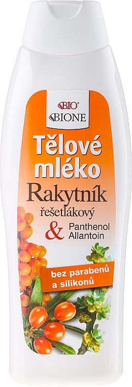 Leche corporal con ácido hialurónico - Bione Cosmetics Sea Buckthorn Milk — imagen N1