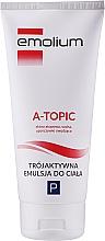 Perfumería y cosmética Emulsión de baño para niños y bebés para pieles atópicas - Emolium A-topic Emulsion
