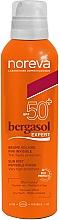 Perfumería y cosmética Bruma protectora solar para rostro y cuerpo, SPF50 - Noreva Bergasol Sublim Sun Mist SPF50+