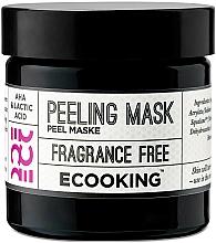 Perfumería y cosmética Mascarilla facial exfoliante con ácido láctico - Ecooking Peeling Mask