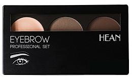 Perfumería y cosmética Paleta de sombras de cejas - Hean Professional Eyebrow Set 2