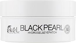 Perfumería y cosmética Parches para contorno de ojos de hidrogel con polvo de perla negra - Ekel Ample Hydrogel Eyepatch