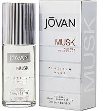 Perfumería y cosmética Jovan Platinum Musk For Men - Agua de colonia