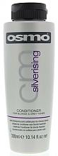 Perfumería y cosmética Acondicionador neutralizador de tonos amarillos sin sulfatos - Osmo Silverising Conditioner for Blonde & Grey Tones