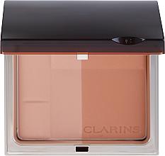 Perfumería y cosmética Polvo bronceador compacto dúo - Clarins Bronzing Duo Mineral Powder Compact SPF 15