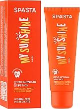 Perfumería y cosmética Pasta dental natural con sabor a menta - Spasta My Sunshine