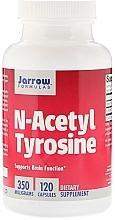 Perfumería y cosmética Complemento alimenticio en cápsulas de N-acetil tirosina, 350 mg, 120 cáp. - Jarrow Formulas N-Acetyl Tyrosine, 350 mg