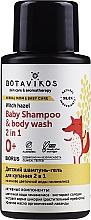 Perfumería y cosmética Champú y gel de ducha con hamamelis para bebés, hipoalergénico - Botavikos Baby Shampoo And Body Wash 2 in 1