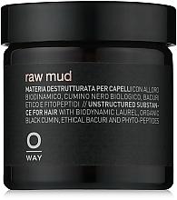 Perfumería y cosmética Arcilla de cabello, fijación extra fuerte - Oway Man Raw Mud