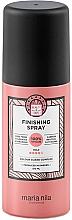 Perfumería y cosmética Spray de acabado para cabello, fijación fuerte - Maria Nila Finish Spray