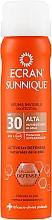 Perfumería y cosmética Bruma invisible protectora solar - Ecran Sunnique Spray Protection SPF30